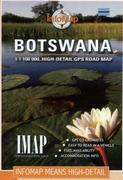 Infomap Botswana Touring Map