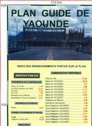 Yaounde city map