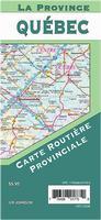 Quebec province road map