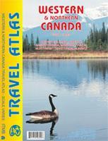 Western Canada road atlas