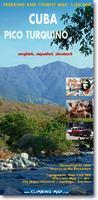 Pico Turquino climbing map