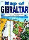 Gibraltar travel map