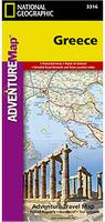 Greece travel map