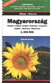 Hungary road atlas
