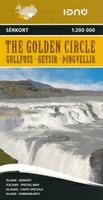Iceland Golden Circle road map