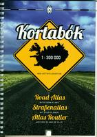Iceland road atlas