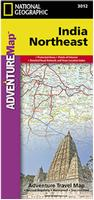 India regional travel maps