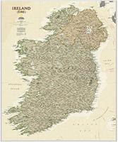 Ireland wall map