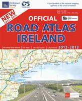 Ireland road atlas