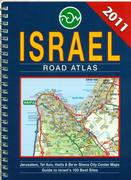 Mapa Israel road atlas