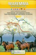 Maremma tourist map