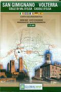 San Gimignano Volterra tourist map
