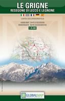 Le Grigne hiking map