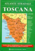 Tuscany road atlas