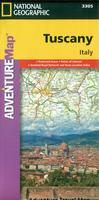 Tuscany travel map