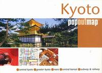 Kyoto Popout city map