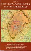 Mt. Kenya National Park Map