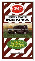 Kenya Route Map