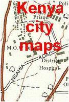 Kenya city maps