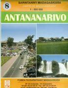 Antananarivo topographic map