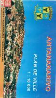 Antananarivo city map