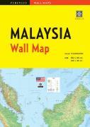 Malaysia wall map