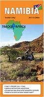 Namibia travel map