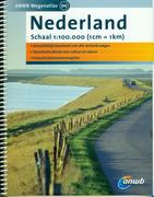 Netherlands road atlas