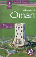 Oman travel map