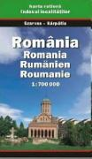 Romania road map