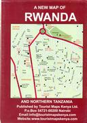 Rwanda travel map
