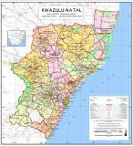 Kwazulu Natal map