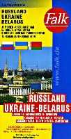 Falk Russia travel maps