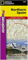 Northern Spain travel map