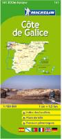Cote de Galice road map
