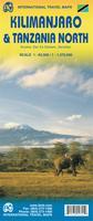 Kilimanjaro trekking map