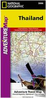 Thailand travel map