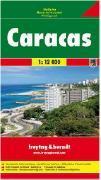 Caracas map