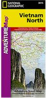 Vietnam North travel map