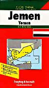 Yemen travel map