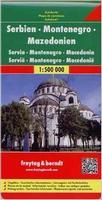 Serbia road map