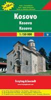Kosovo travel map