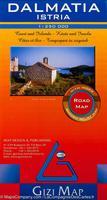 Dalmatia geographic map