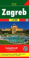 Zagreb city map