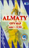Almaty city map
