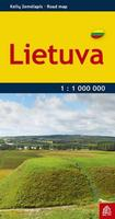 Lithuania pocket road map