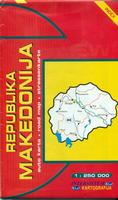 Macedonia travel map