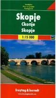 Skopje street map