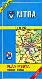 Nitra city map