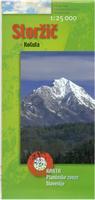 Triglav National Park hiking map